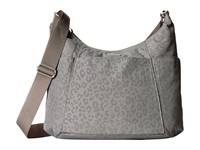 Baggallini Hobo Tote Pewter Cheetah Cross Body Handbags