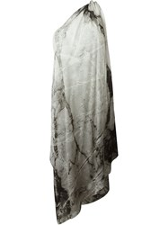 Lost And Found Ria Dunn One Shoulder Dress Grey
