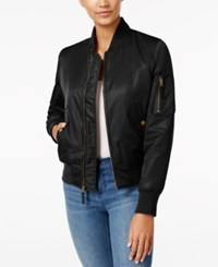 American Rag Bomber Jacket Only At Macy's Classic Black
