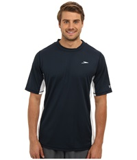 Speedo Longview Swim Tee New Navy Men's Swimwear