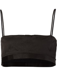 Rag And Bone Rag And Bone Spaghetti Strap Bralet Black