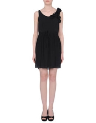 Darling Short Dresses Black