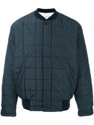 Universal Works Quilted Bomber Blue