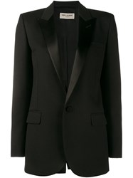 Saint Laurent Classic Tuxedo Jacket Black