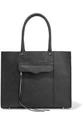 Rebecca Minkoff Mab Medium Studded Textured Leather Tote Black