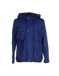 313 Tre Uno Tre Coats And Jackets Jackets Men Blue