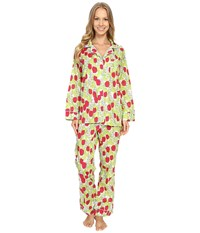 Bedhead Classic Pajamas Voile Rouge Holland Tulip Women's Pajama Sets Yellow