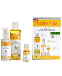 Burt's Bees Natural Acne Full Size Regimen Kit