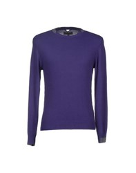Daniele Fiesoli Knitwear Jumpers Men Purple