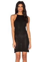 Wyldr Ocean Drive Crochet Dress Black