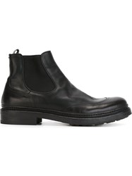 Pantanetti Classic Ankle Boots Black