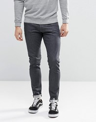 G Star 3301 Super Skinny Jeans Deconstructed Dark Grey Rinse Grey Rinsed