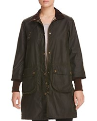 Barbour Rain Long Mac Coat 100 Bloomingdale's Exclusive Sage