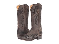 Roper Bouquet Brown Black Cowboy Boots