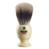 Kent Silvertex Synthetic Shaving Brush