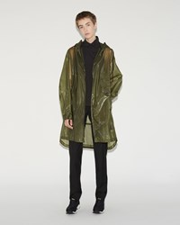 Y 3 Raincoat Waste Green