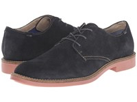 Mark Nason Coley Navy Suede Men's Lace Up Casual Shoes Blue