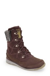 Salomon Hime Mid Boot Brown