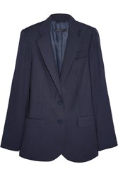 Marc By Marc Jacobs Junko Wool Twill Blazer Blue