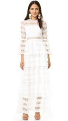 Alexis Liliane Maxi Dress White