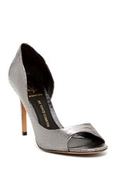 Vc Signature Timily Peep Toe Pump Gray
