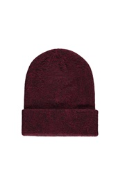 Forever 21 Two Tone Beanie Burgundy