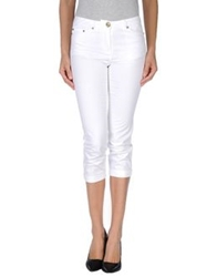 Silvian Heach 3 4 Length Shorts White