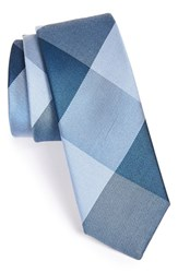 Men's The Tie Bar 'Bison' Silk Plaid Tie Online Only