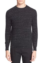 Men's A.P.C. Marled Cotton And Cashmere Sweater