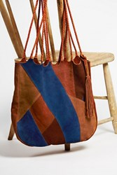 Free People Womens Decades Patched Tote