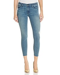 Black Orchid Noah Ankle Fray Jeans In Bewildered