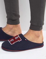 Tommy Hilfiger Cornwall Slipper With Gift Box Navy