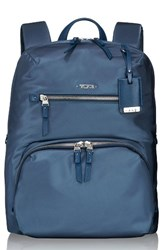 Tumi Voyageur Halle Nylon Backpack Blue Cadet
