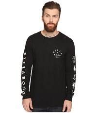 Billabong Alacran Long Sleeve Tee Black Men's T Shirt
