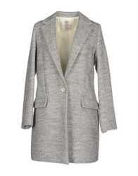 Ottod'ame Coats Light Grey