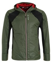 Vaude Risti Outdoor Jacket Olive Red