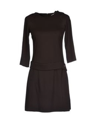 Lorna Bose' Short Dresses Black