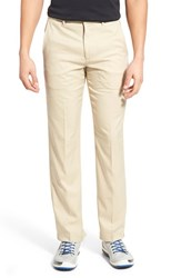 Men's Bobby Jones 'Tech' Flat Front Wrinkle Free Golf Pants Khaki