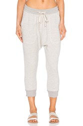Nlst Zip Pocket Knit Harem Sweatpant Beige