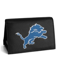 Rico Industries Detroit Lions Trifold Wallet Black