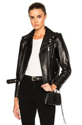 Saint Laurent Classic Motorcycle Jacket In Black