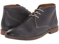 Bostonian Verner Style Navy Leather Men's Dress Lace Up Boots Blue