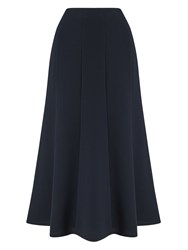 Eastex Fit And Flare Skirt Navy