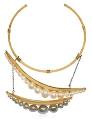 Katerina Psoma Pearl Necklace
