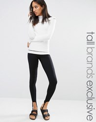 One Day Tall Legging With Stirrup Detail Black