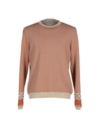 Umit Benan Knitwear Jumpers Men Rust