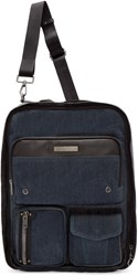 Diesel Blue Denim Gear Backpack