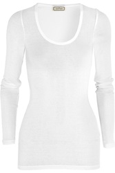 By Malene Birger Tosia Stretch Cotton Jersey Top