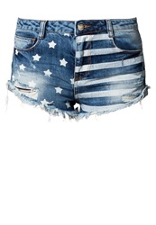 Ltb Vera Denim Shorts Celia Wash Blue