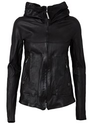 Isaac Sellam Experience 'Clandestin Parchemin' Jacket Black